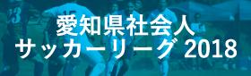 愛知県社会人サッカーリーグ2018